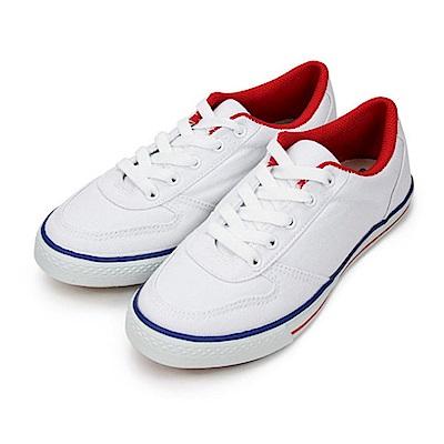 BuyGlasses 韓版帆布運動鞋-白