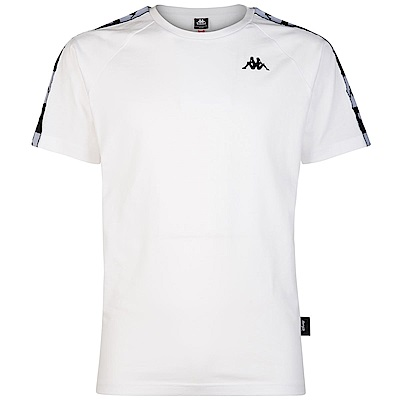 KAPPA DISNEY 迪士尼限量款純棉短袖衫 合身版  白 304IRU0925