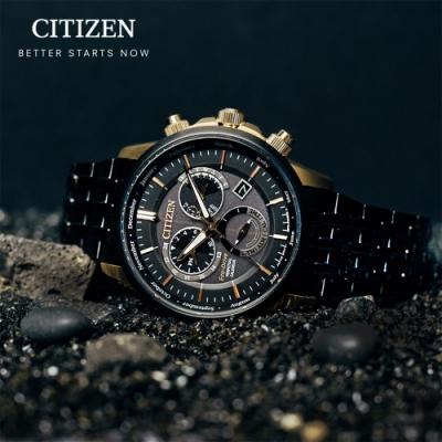 CITIZEN 卓越非凡光動能萬年曆手錶(BL8156-80E)42mm