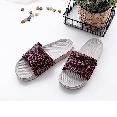 FunPlus+ 極簡質感室外拖鞋-紅