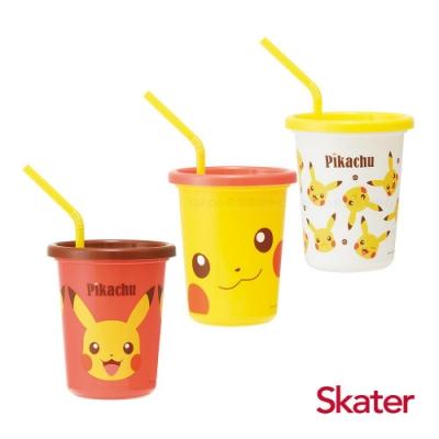 Skater日本製3入水杯(320ml)皮卡丘