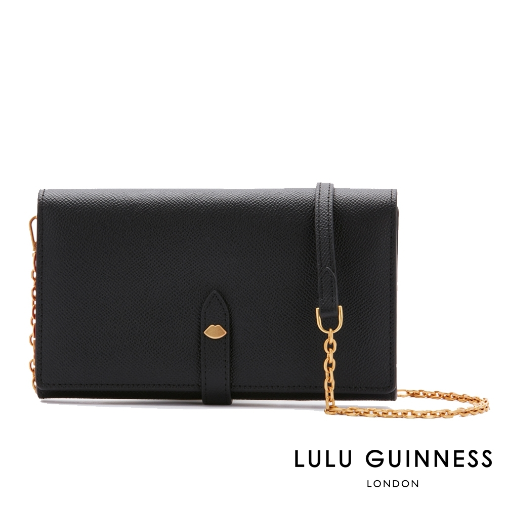 LULU GUINNESS JUNIPER 手拿/側背包 (黑)