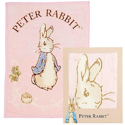 奇哥 比得兔幼兒毛毯禮盒-粉紅(日本製)