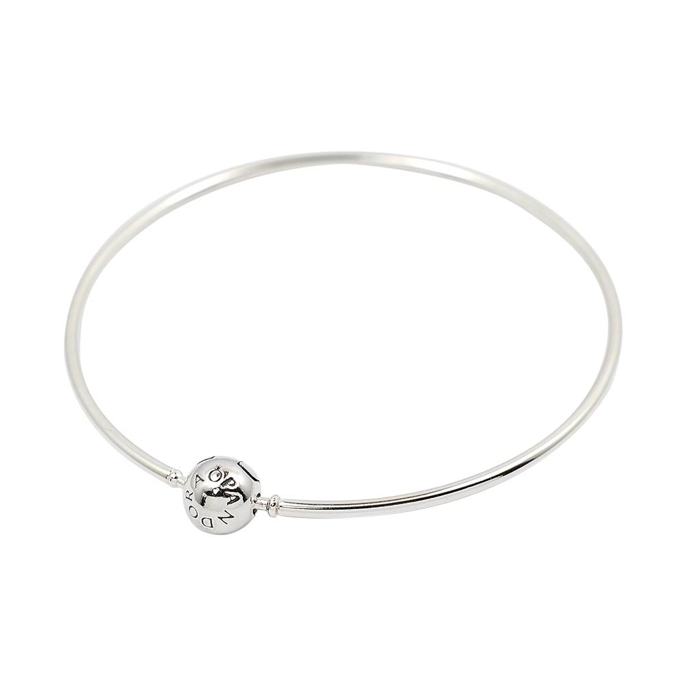 Pandora 潘朵拉 Pandora Me系列圓珠硬環 925純銀手環