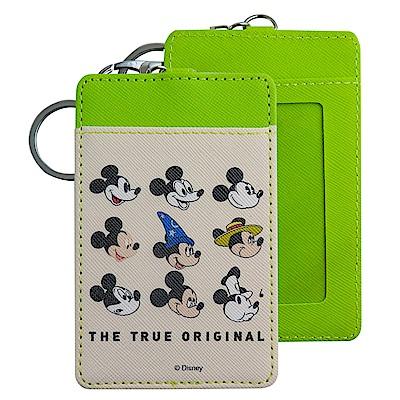 Disney迪士尼米奇90周年證件套/票卡夾 各年代米奇