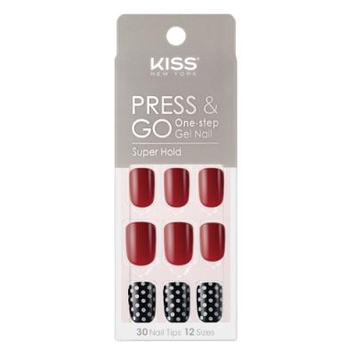 KISS New York-Press&Go指甲貼片-柯夢波丹(KPN01K)