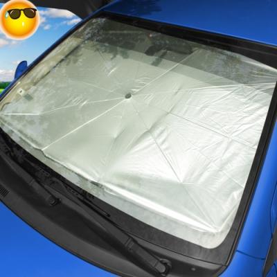 汽車前檔遮陽傘(65x125cm)一把