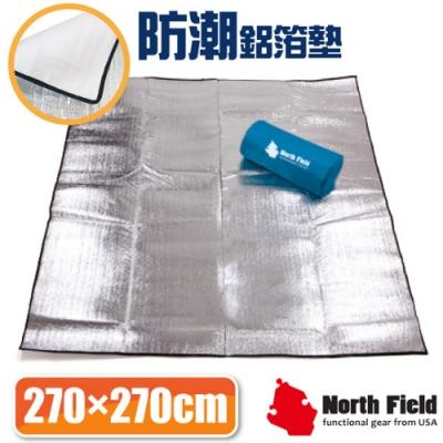 North Field 2mm雙層加強隔絕4-6人汽車露營帳蓬鋁箔睡墊(270x270).野餐地墊.爬行墊
