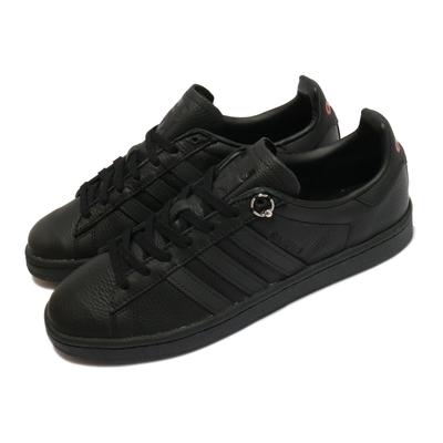 adidas 休閒鞋 032C Campus Prince 男女鞋 海外限定 愛迪達 舒適 簡約 情侶穿搭 黑 FX3495