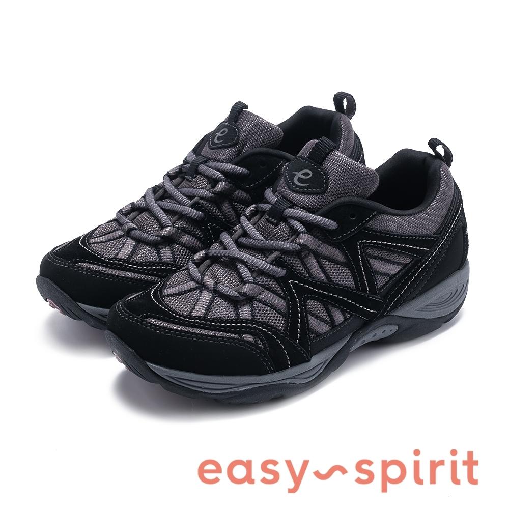 Easy Spirit EXPLOREMAP 機能款輕量彈力休閒鞋-黑色