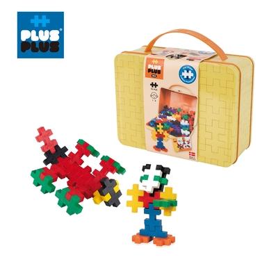 【++Plus-Plus 加加積木】大顆粒-BIG大積木彩虹70片手提盒
