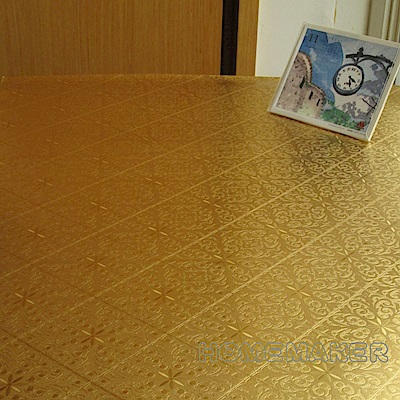 金菱花桌墊 (長60cmX寬60cm)_RN-TD223-A003