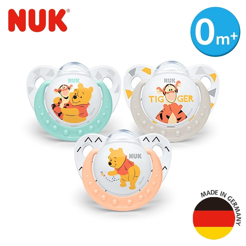德國NUK-迪士尼安睡型矽膠安撫奶嘴-1入