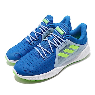adidas 慢跑鞋 ClimaCool Vent 運動 男鞋 愛迪達 三線 路跑 涼感 透氣 穿搭 藍 綠 EE3915