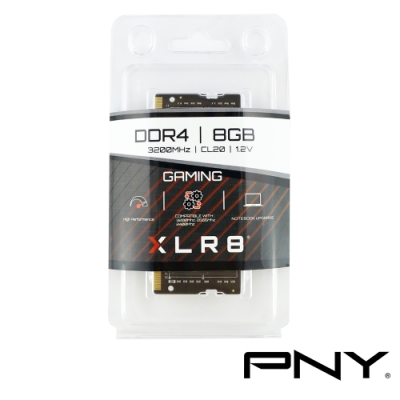 PNY 8G DDR4 3200筆記型記憶體