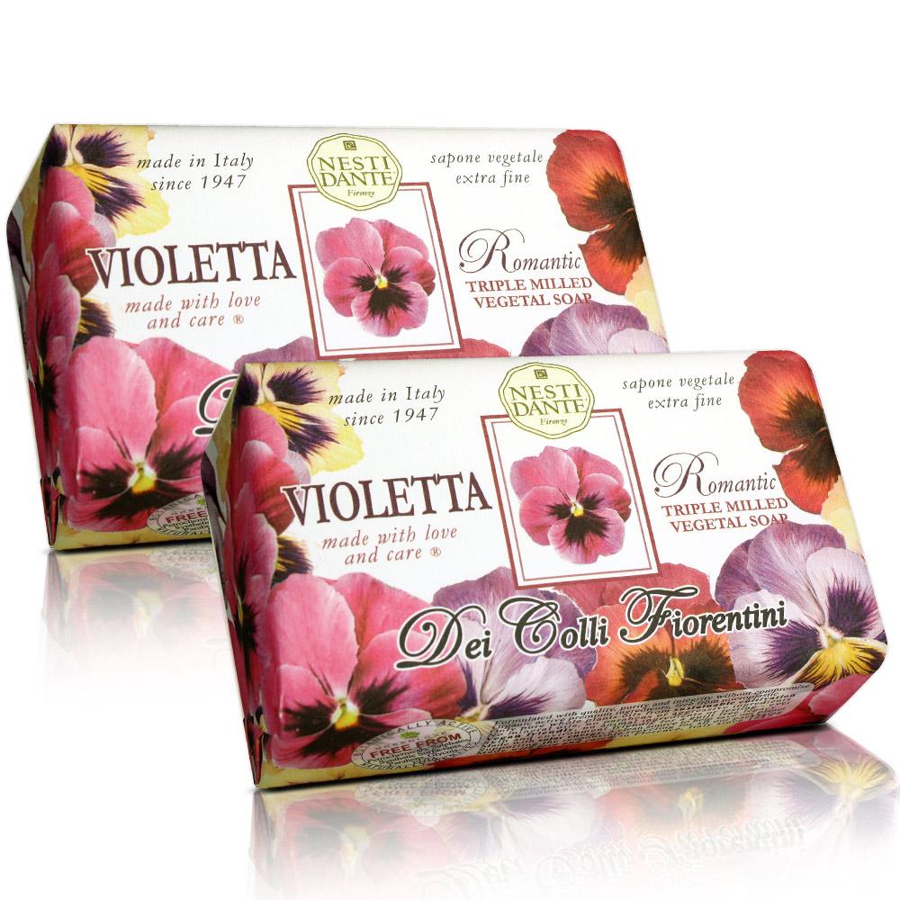 Nesti Dante 天然花妍系列-三色菫皂(250g)X2入