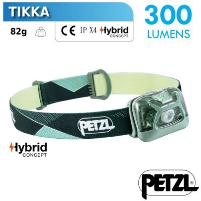 法國 Petzl TIKKA 超輕量省電頭燈(300流明)_綠