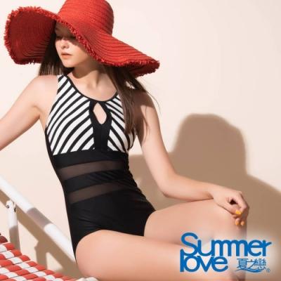 夏之戀SUMMER LOVE 大女連身三角泳衣