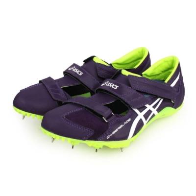 ASICS 男女 特定-日製田徑釘鞋 CYBERBLADE HF 深紫螢光黃