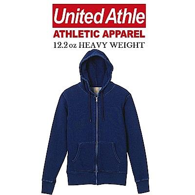 日本United Athle丹寧連帽外套 重磅denim UA情侶