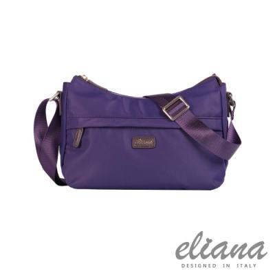 eliana - BREEZE系列休閒斜背包 - 優雅紫