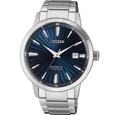 CITIZEN 鈦金屬機械男錶(NJ2180-89L)40mm