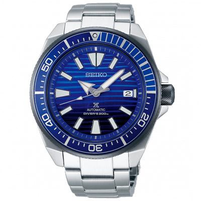 SEIKO 精工 PROSPEX 潛水機械手錶SRPC93J1-漸層藍/43.8mm