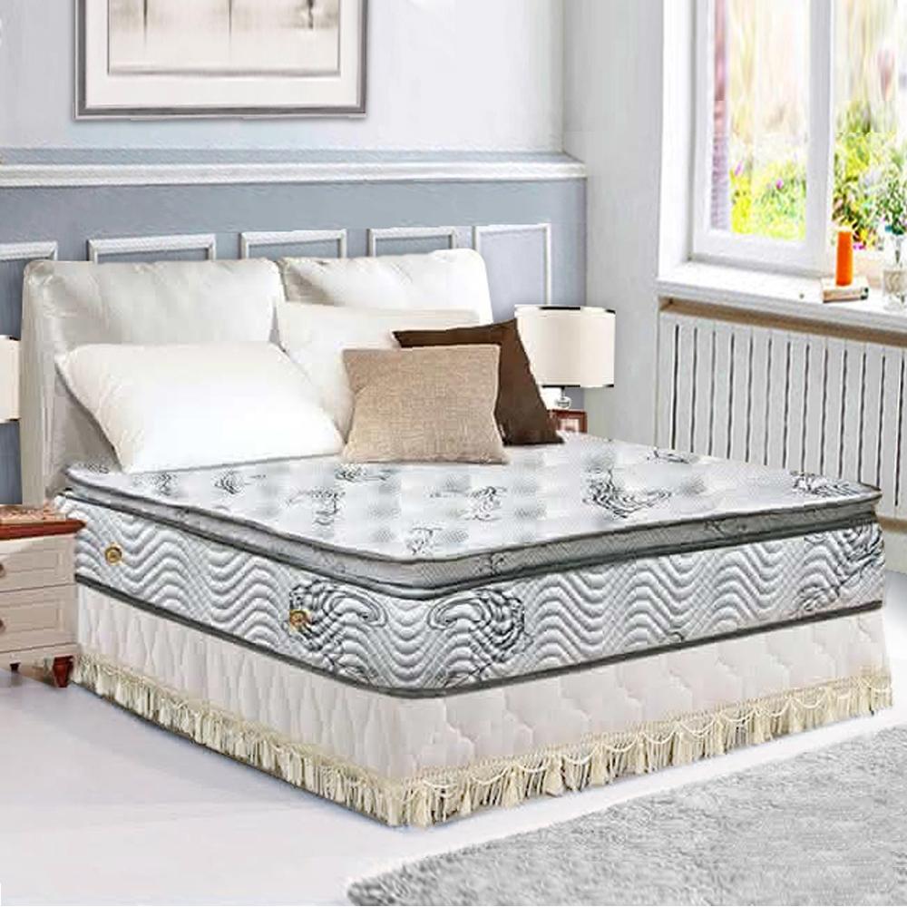 布萊迪 Brady  優眠五段式舒眠布正三線乳膠獨立筒床墊-雙人加大6尺
