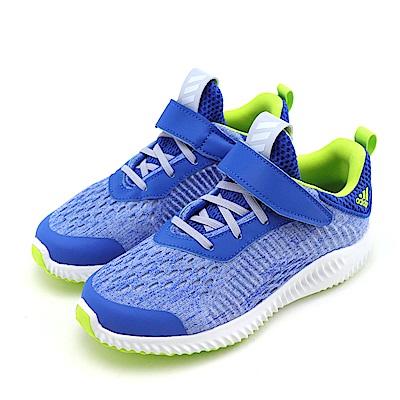 ADIDAS-中童慢跑鞋B22554-藍