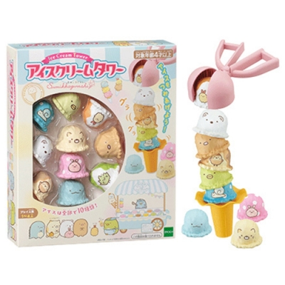 任選日本 角落小夥伴冰淇淋疊疊樂 EP07337 EPOCH公司貨