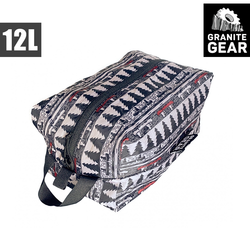 【Granite Gear】1000263 70D ZippSack 輕量拉鍊式立體收納袋(12L) / 月光與槳
