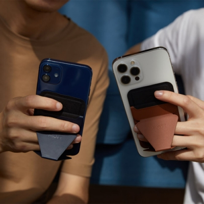 美國 MOFT X|隱形磁吸手機支架 支援MagSafe iPhone12系列適用 四色可選