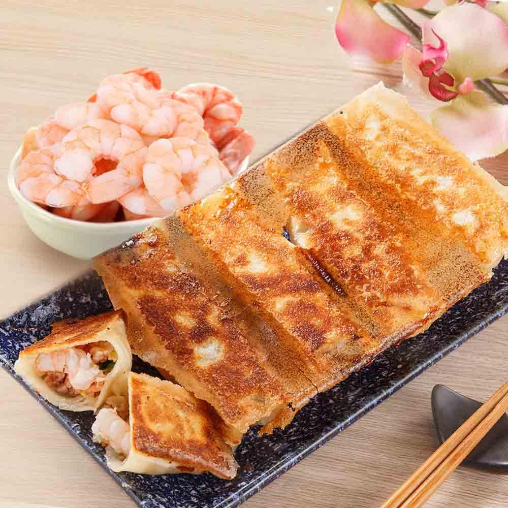餃子樂 冷凍海老煎餃一盒(5入/單盒裝)