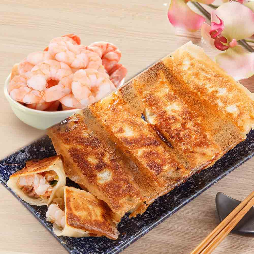 餃子樂 冷凍海老煎餃三盒(5入/單盒裝)