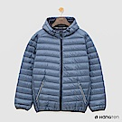 Hang Ten - 男裝 - ThermoContro-輕巧收納羽絨外套 - 藍