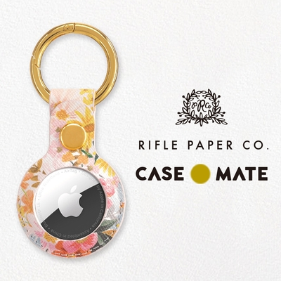 美國 Case●Mate Rifle Paper Co.  AirTag專用吊飾鑰匙圈 - 瑪格麗特