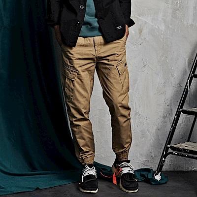 CACO-201工裝縮口褲-情侶款(兩色)-男【QNA059】