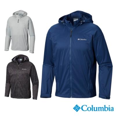 Columbia 哥倫比亞男款- UPF50 防潑水風衣 3 色