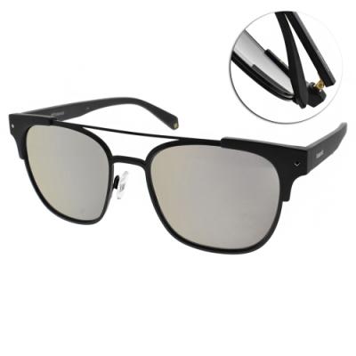 Polaroid 水銀偏光太陽眼鏡 偽復古款/霧黑 #PLD6039SX 003LM