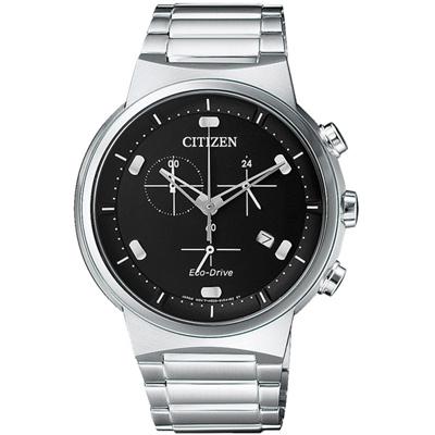 CITIZEN 機動爆破三眼時尚計時手錶(AT2400-81E)