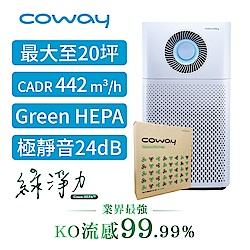 Coway 20坪 綠淨力噴射循環空氣清淨機 AP-1516D+二年份濾網組