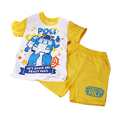 POLI純棉防蚊布套裝 黃 k50322 魔法Baby