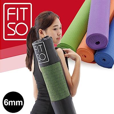 【FIT SO】PVC 瑜珈墊6mm-綠