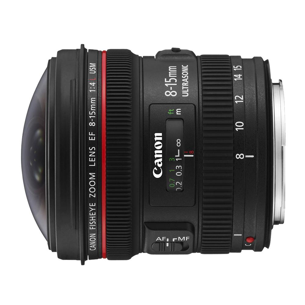 【快】CANON EF 8-15mm f/4L Fisheye USM超廣角變焦*(平輸)