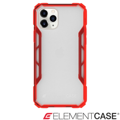 美國 Element Case iPhone 11 Pro Max 抗刮科技軍規殼 -透紅