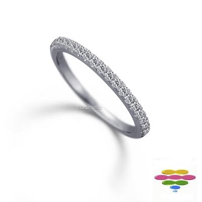 彩糖鑽工坊 14K 鑽石戒指 線戒&排戒 Elegance 系列