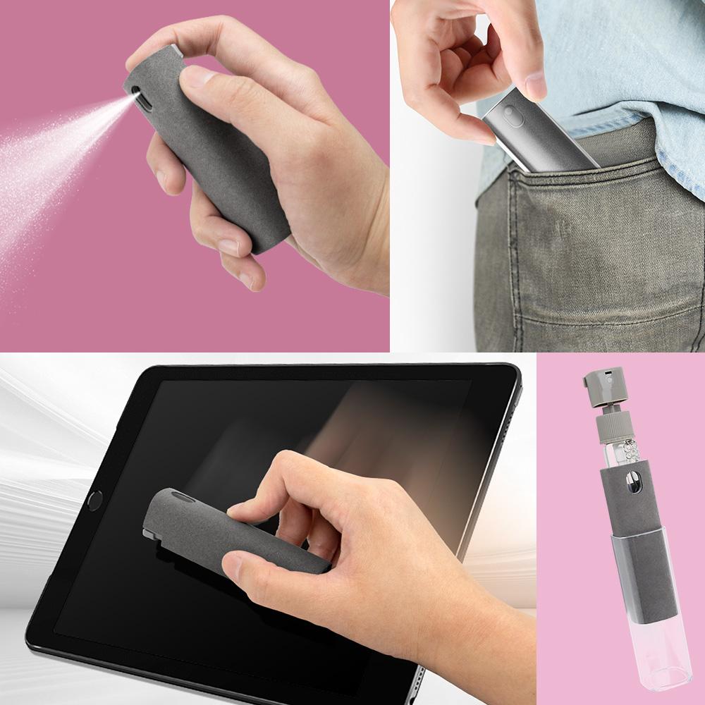 aibo 噴+擦+收納一體 攜帶式螢幕清潔劑(LY-CK22)