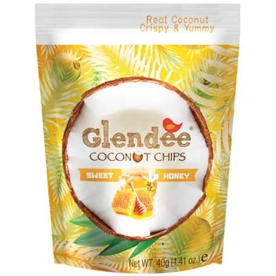 Glendee 椰子脆片-蜂蜜40g