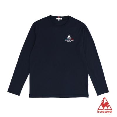法國公雞牌長袖T恤 LWM2320139-男-藏青