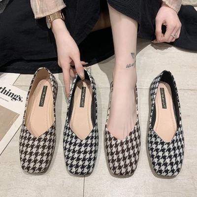 KEITH-WILL時尚鞋館-波西米亞花布淑女通勤鞋(休閒鞋/平底鞋)(共2色)